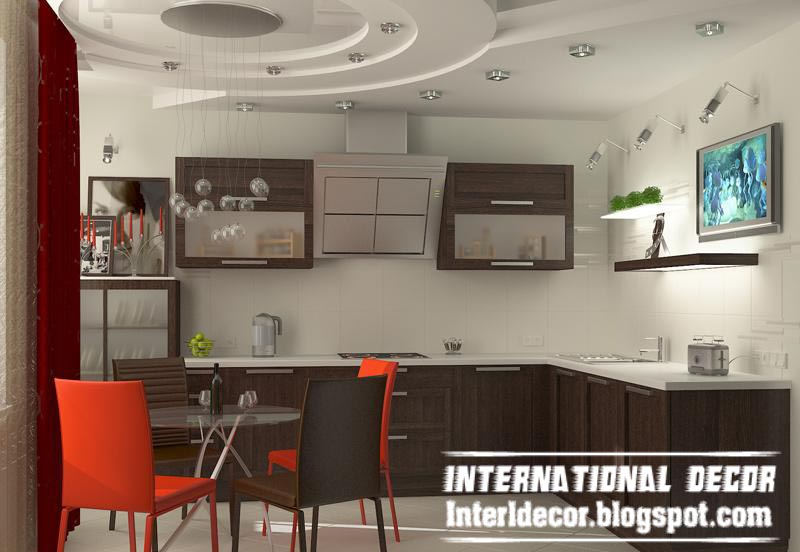 Top catalog of kitchen ceiling designs ideas gypsum false ceilings part 1 international decor - Wondrous kitchen ceiling designs ...