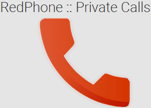 RedPhone Private Calls app per Android