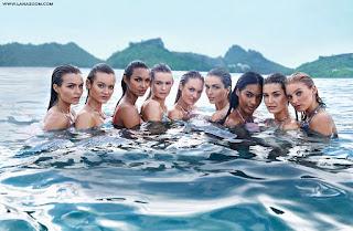 بيهاتي برينسلو في صور لأحدث تصاميم ملابس السباحة 2015