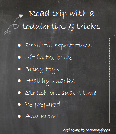 Welcome to Mommyhood: 16 tips for surviving a road trip with kids