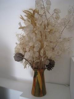 Ideas Para La Decoracion Con Flores Y Hojas Secas Ideas - Plantas-secas-decoracion