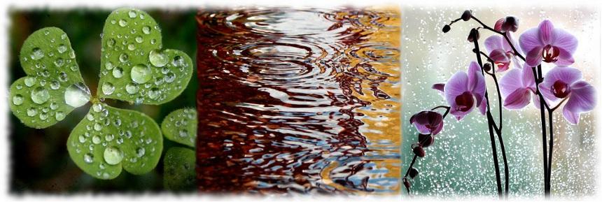 Vesipisaroiden ropinaa