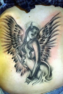 Dark Angel Tatoo Design Picture Collection