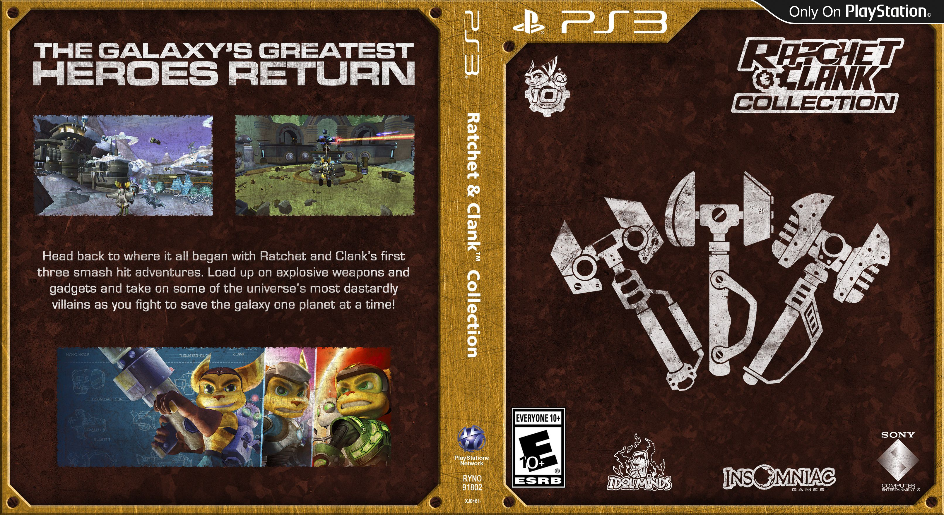 Capa Ratchet & Clank Collection PS3