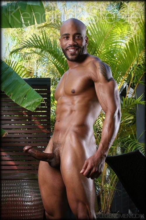 Bodybuilder naked nude male