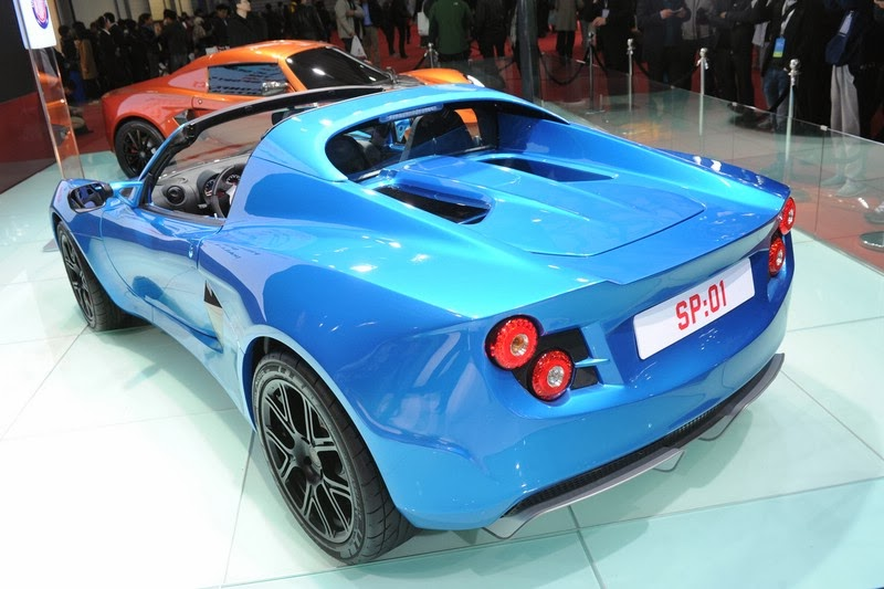 2014 SP:01 The fastest electric sports car from Detroit