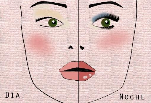 maquillaje de día a noche