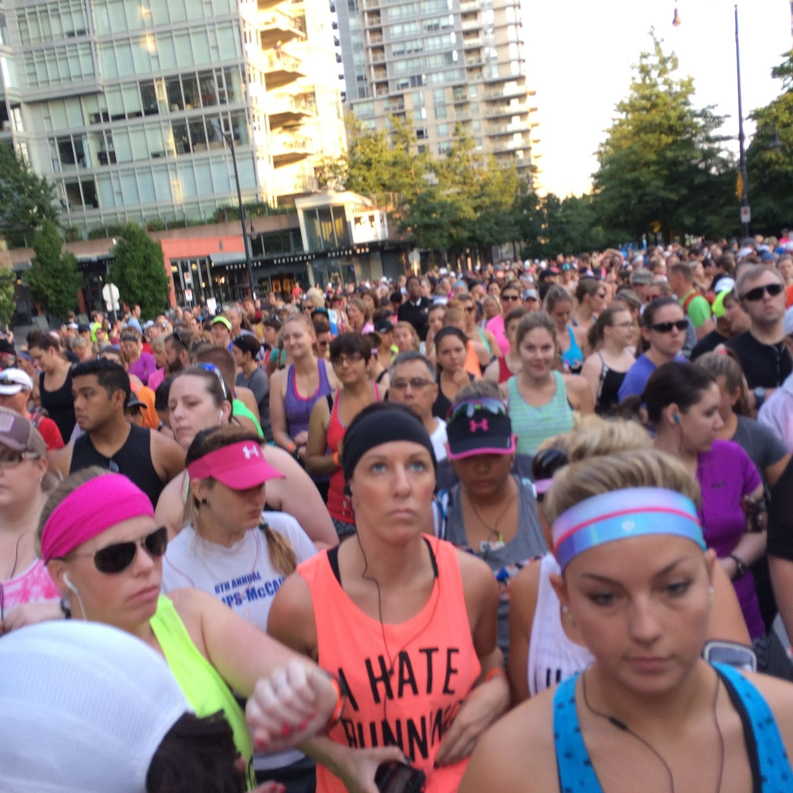 lululemon Sea Wheeze start corral