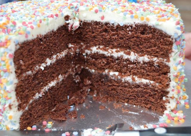 dairy free chocolate layer cake