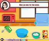 Món bánh sandwich kem, chơi game làm bánh online tại gamevui.biz