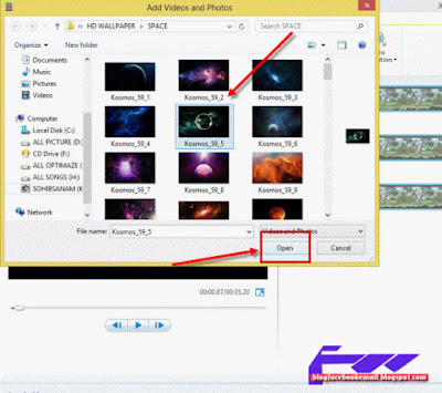 cara memakai movie maker windows 8