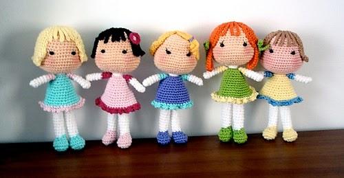 Amigurumi Tutorial Bamboline : Agenda di Margherita: Bambole alluncinetto cos? chiamate ...