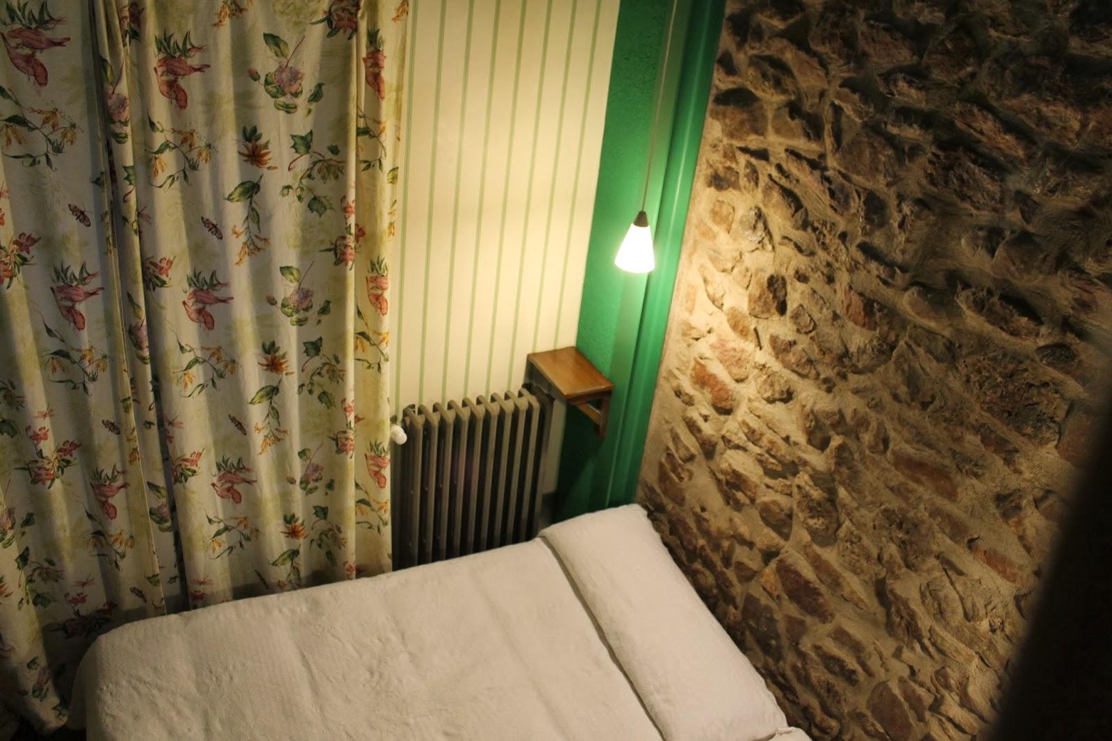 Dormitorio Casa Tia Quica, decoracion en verde.