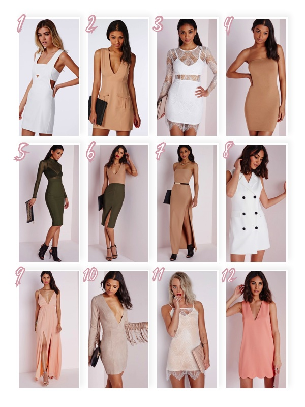 20% sale discount off all dresses at missguided. missguided dress wishlist. sale.