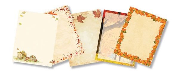 Thanksgiving Printer Paper