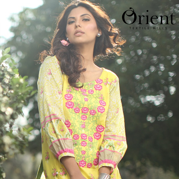 Orient Lawn Prints Collection 2015