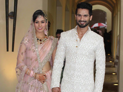 Mr & Mrs Shahid Kapoor