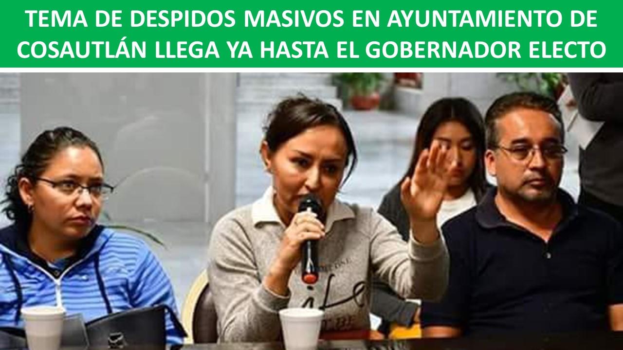 HASTA EL GOBERNADOR ELECTO
