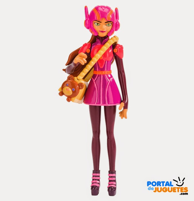 muneco honey lemon big hero 6 disney bandai