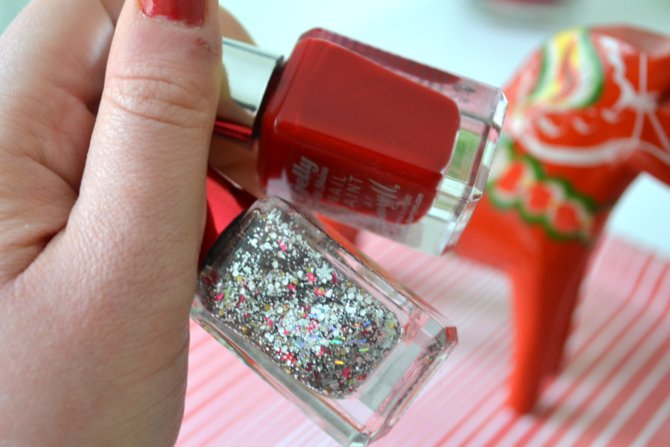 NOTD | Barry M Blood Orange and Moonlight