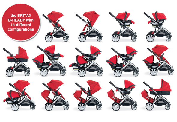 The B Ready Is Integrated With Click Go Car Seat Adapter CLICK GO System Heart Of READY Stroller And What Makes Strollers