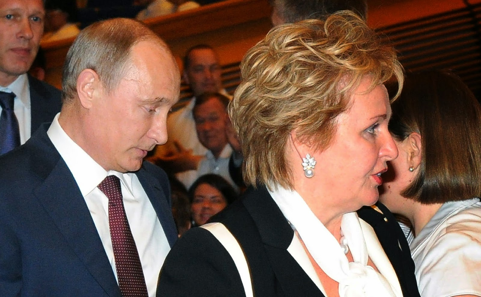 Putin and his wife announced their divorce in 2013 during the interval of a ballet.