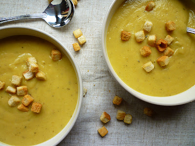Celeriac and Carrot Soup