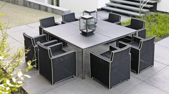 Black And White Outdoor Wicker Furniture – Haute Terasse
