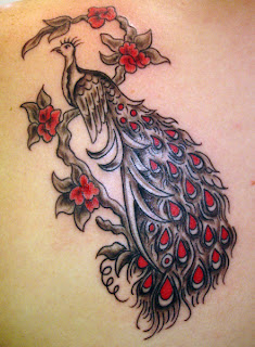 great peacock tattoo designs