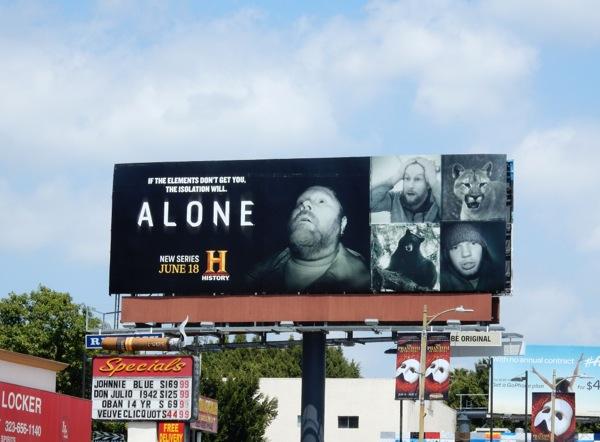 Alone series premiere billboard