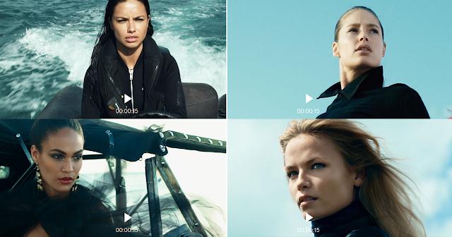 Come si chiama modella pubblicità costumi H&MN 2015