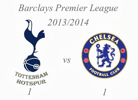 Tottenham Hotspur v Chelsea Result Barclays Premier League 2013