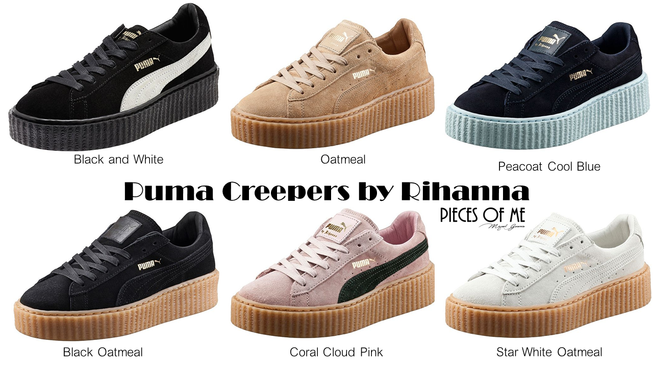 puma the creeper by rihanna pieces of me. Black Bedroom Furniture Sets. Home Design Ideas