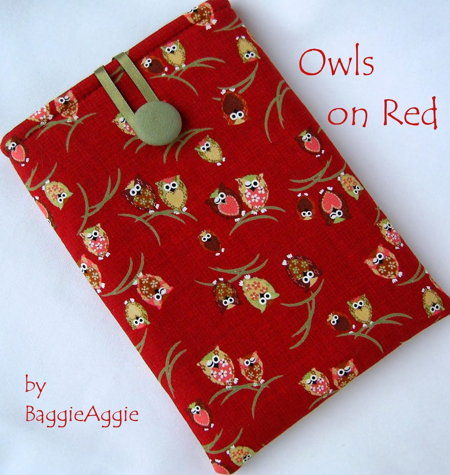 Owls on Red