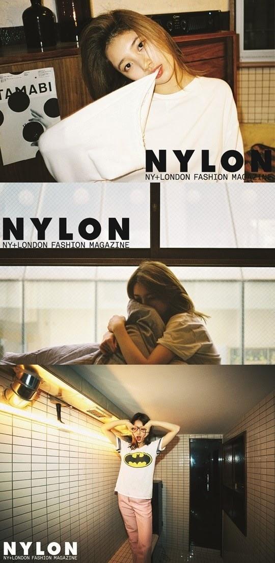 Fashion Magazine Nylon Featuring 13