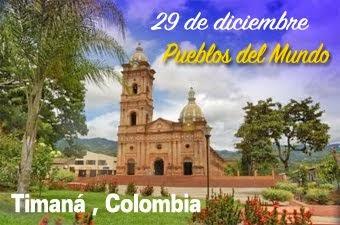 Timaná, un lindo pueblo colombiano.