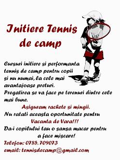Initiere Tenis de Camp