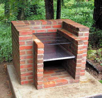 Brick Barbecue1