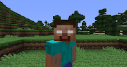 Many people have posted pictures and sightings of Herobrine but there is no .