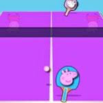imagem Peppa Pig Jogo de ping-pong online