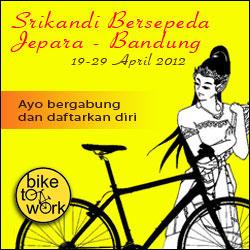bike 2 work,komunitas bersepeda indonesia, bersepeda, mengurangi polusi udara