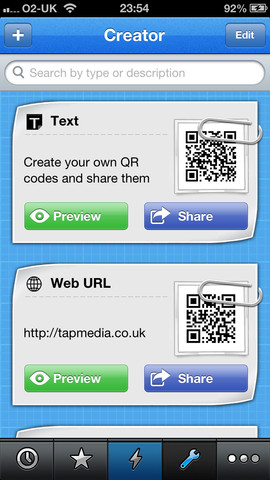 QR Reader for iPhone, iPhone Utitlity Free Download, iPhone Applications