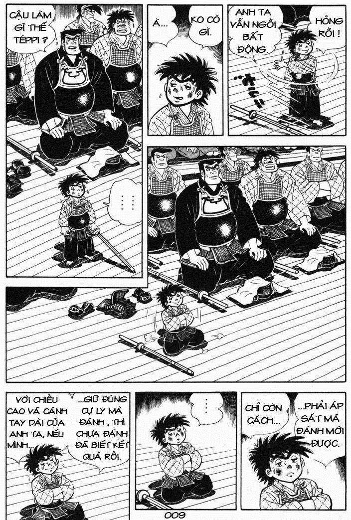 Siêu quậy Teppi chap 53 - Trang 9