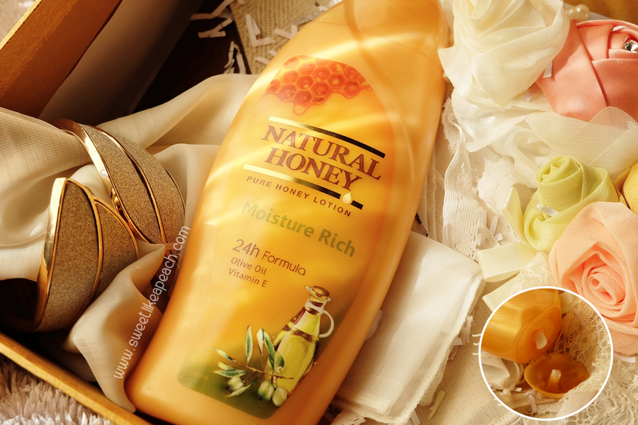 natural honey moisture rich hand body lotion