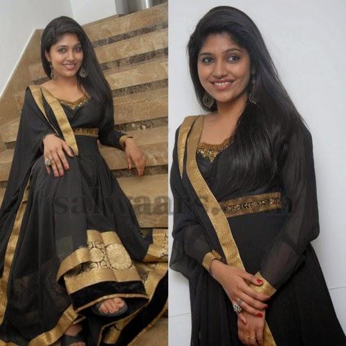 Samyuktha Black Salwar Kameez