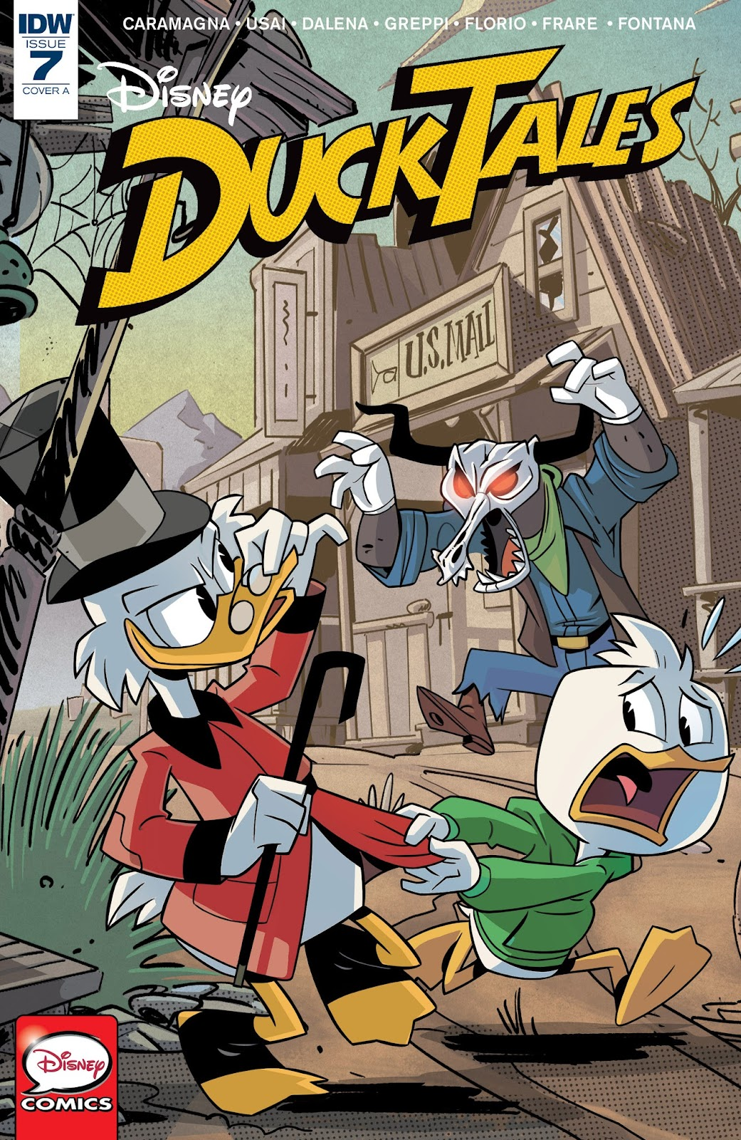 Ducktales (2017) issue 7 - Page 1