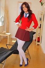 "Schoolgirl India Reynolds strips outta her school uniform - ""Only All Sites"" Full Access To 6 Top Model Sites!"