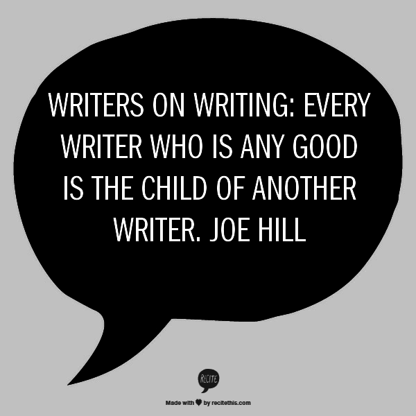 Joe Hill Quote