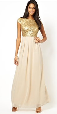 http://www.asos.fr/Little-Mistress/Little-Mistress-Maxi-Dress-with-Sequin-Bodice/Prod/pgeproduct.aspx?iid=3625349&cid=15315&sh=0&pge=1&pgesize=36&sort=-1&clr=Gold%2fcream
