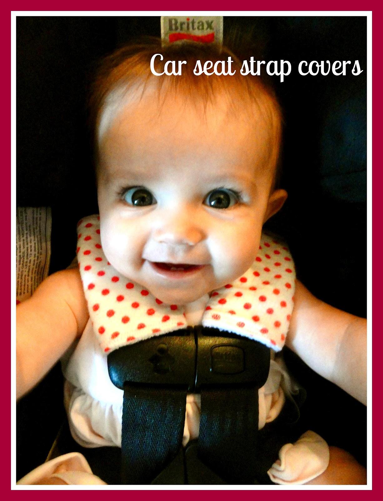Rachels Nest Car Seat Strap Covers